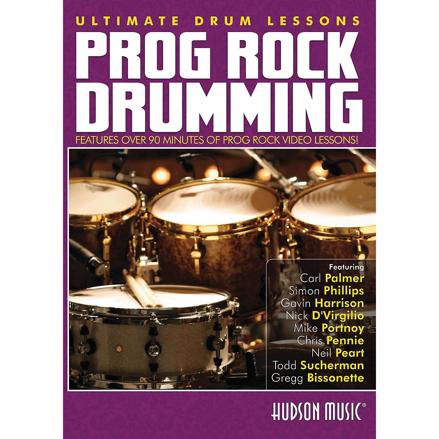Hudson Music Progressive Rock Ultimate Drum Lessons Series Hudson DVD thumbnail