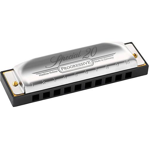 Hohner Progressive Series 560 Special 20 Harmonica thumbnail