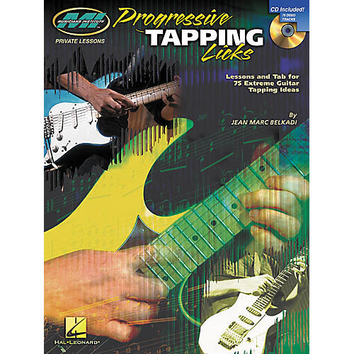 Musicians Institute Progressive Tapping Licks (Book/CD) thumbnail