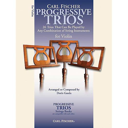 Carl Fischer Progressive Trios for Strings - Violin Book thumbnail