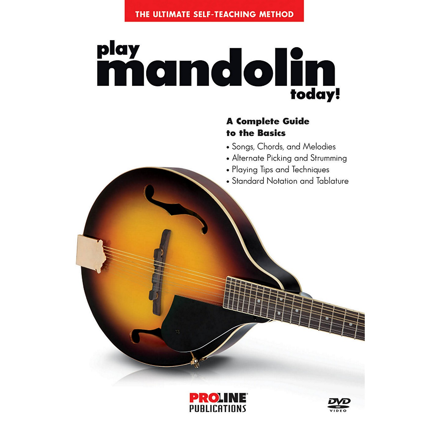 Proline Proline - Play Mandolin Today DVD thumbnail