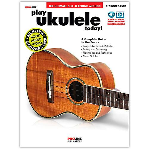 Proline Proline Play Ukulele Today Beginner's Pack Book/Audio & Video Online thumbnail