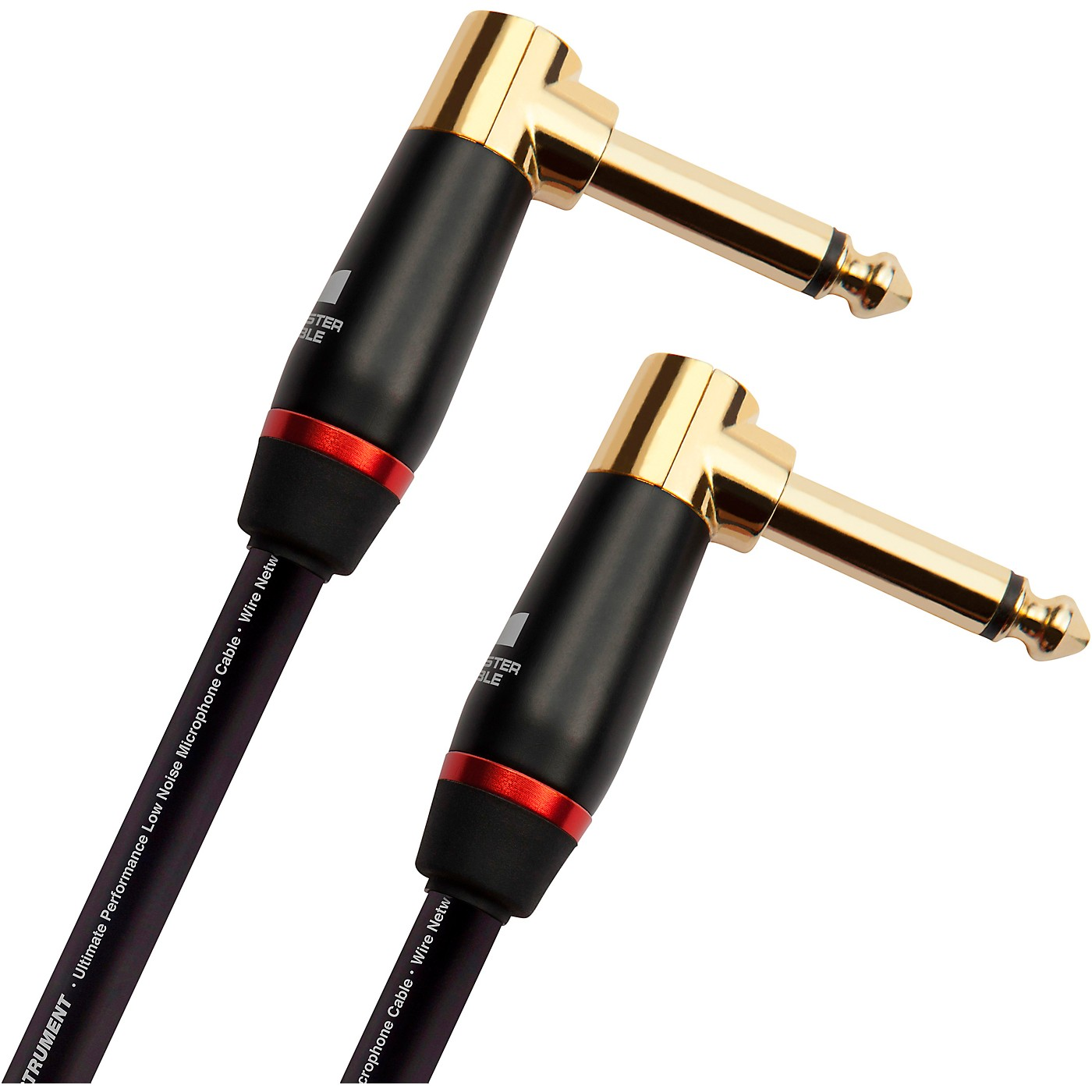 Monster Cable Prolink Bass Instrument Cable Right Angle to Right Angle thumbnail