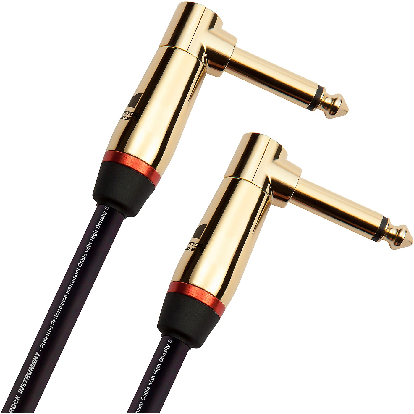 Monster Cable Prolink Rock Pro Audio Instrument Cable, Right Angle to Right Angle thumbnail