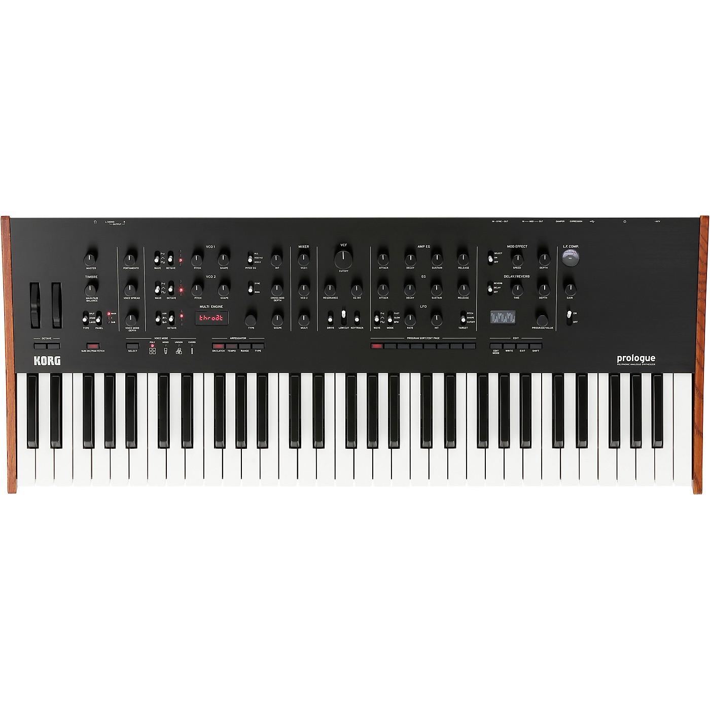 Korg Prologue 16-Voice Polyphonic Analog Synthesizer thumbnail