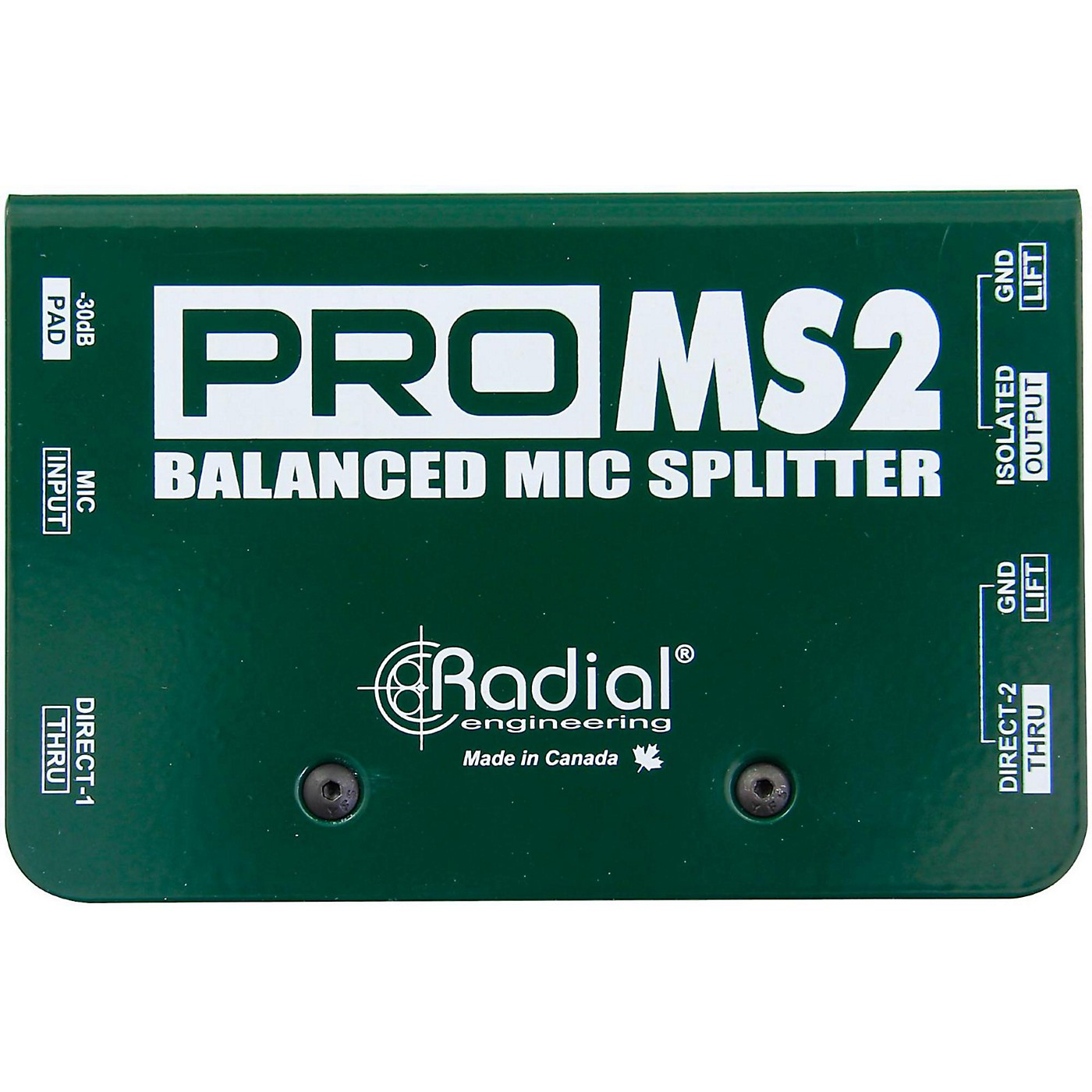 Radial Engineering PromS2 Passive Microphone Splitter thumbnail