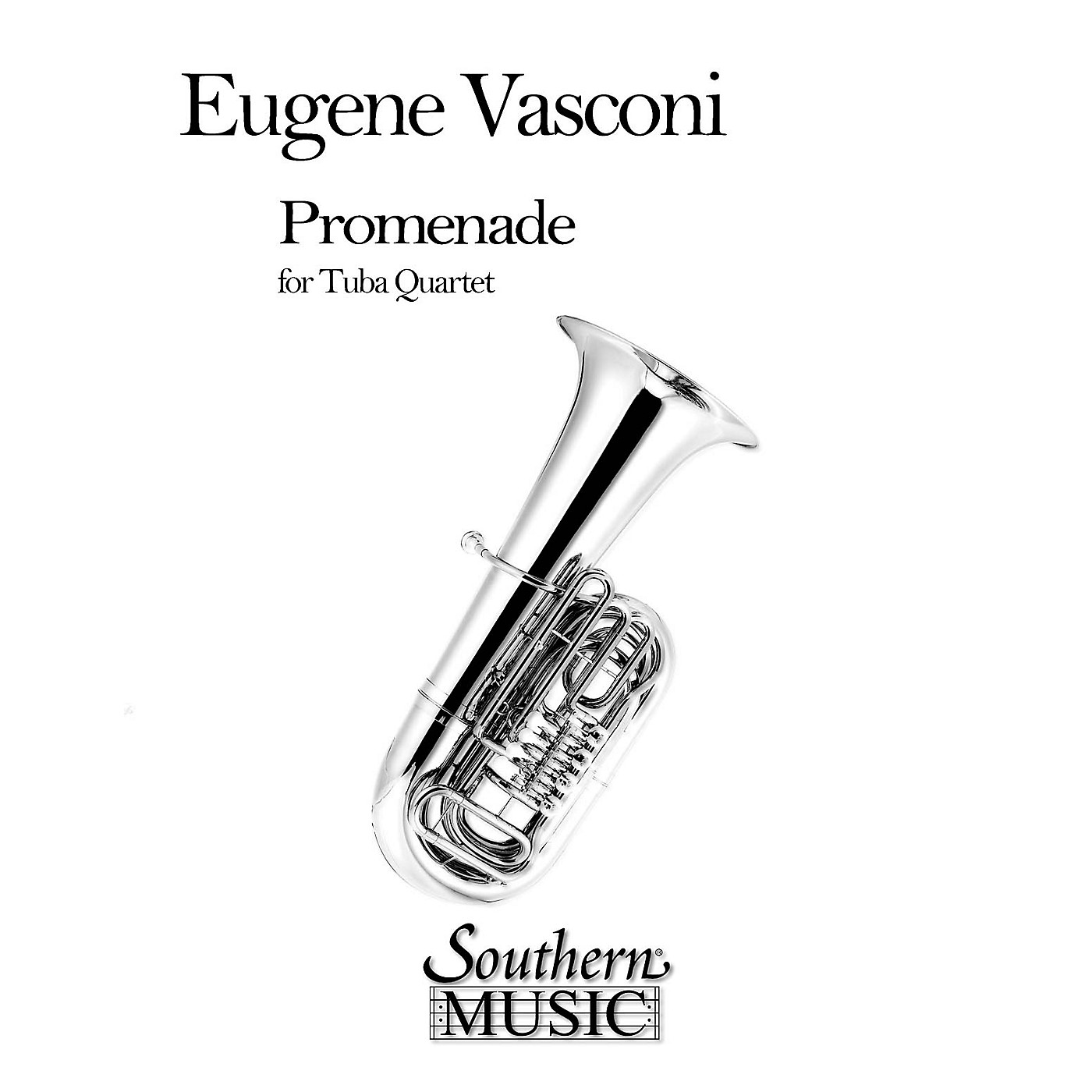 Southern Promenade (2 Euphoniums/2 Tubas) Southern Music Series by Eugene Vasconi thumbnail