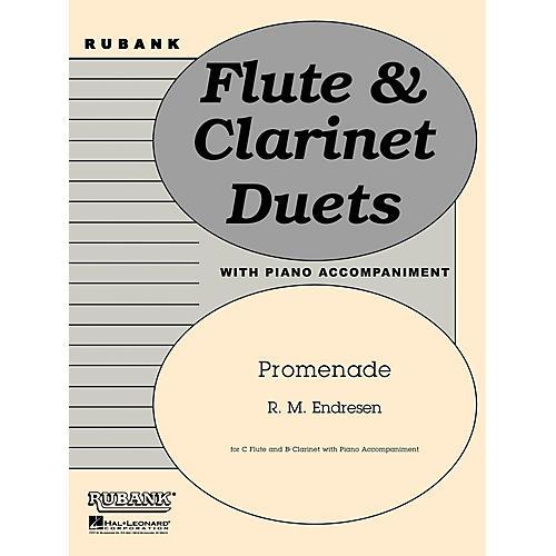 Hal Leonard Promenade (C Flute, Bb Clarinet and Piano - Grade 3) Rubank Solo/Ensemble Sheet Series thumbnail
