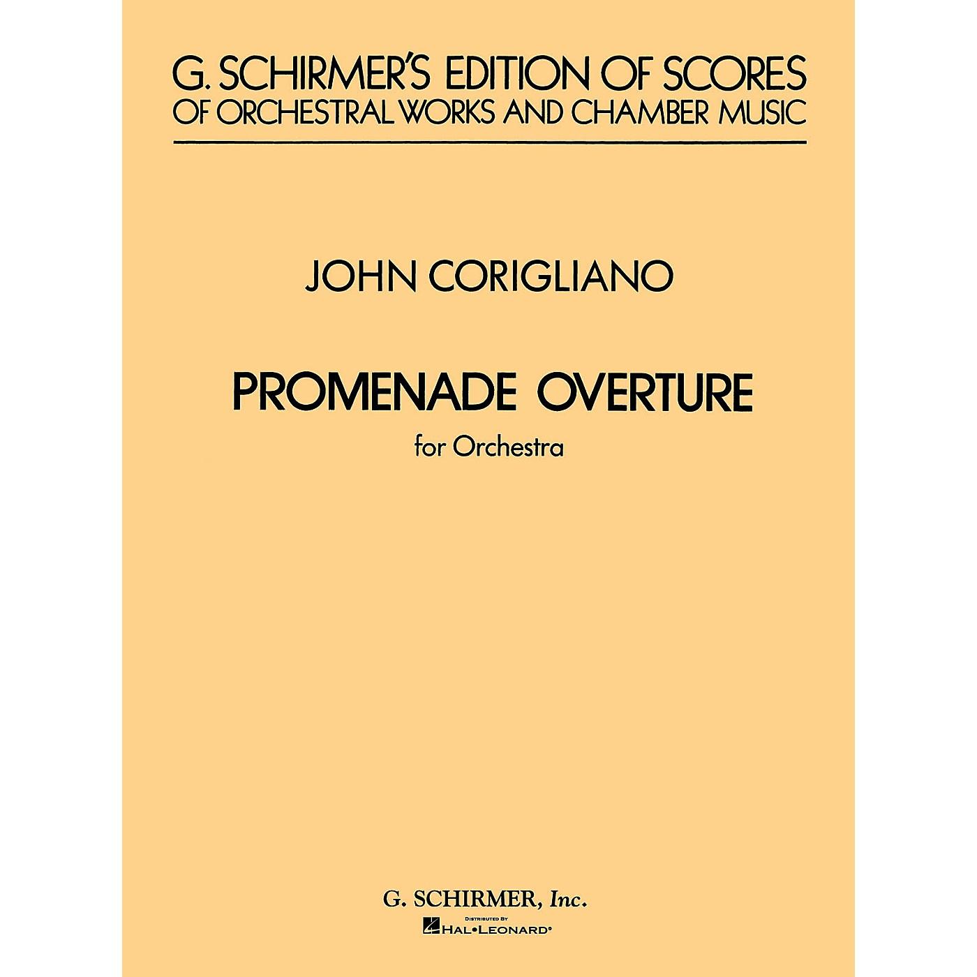 G. Schirmer Promenade Overture (Full Score) Study Score Series Composed by John Corigliano thumbnail