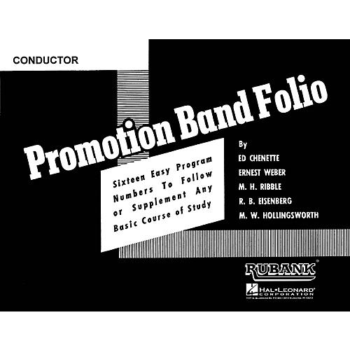 Rubank Publications Promotion Band Folio (3rd Bb Cornet) Concert Band Level 2-3 Composed by Various thumbnail