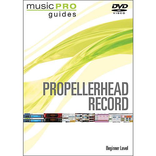 Hal Leonard Propellerhead Record Beginner Music Pro Guide Dvd thumbnail