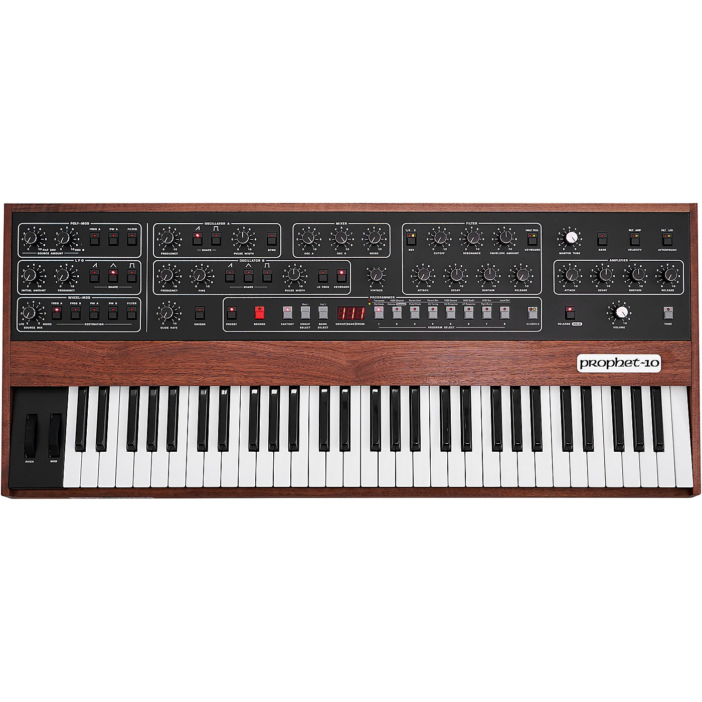 Sequential Prophet-10 10-Voice Polyphonic Analog Synthesizer thumbnail