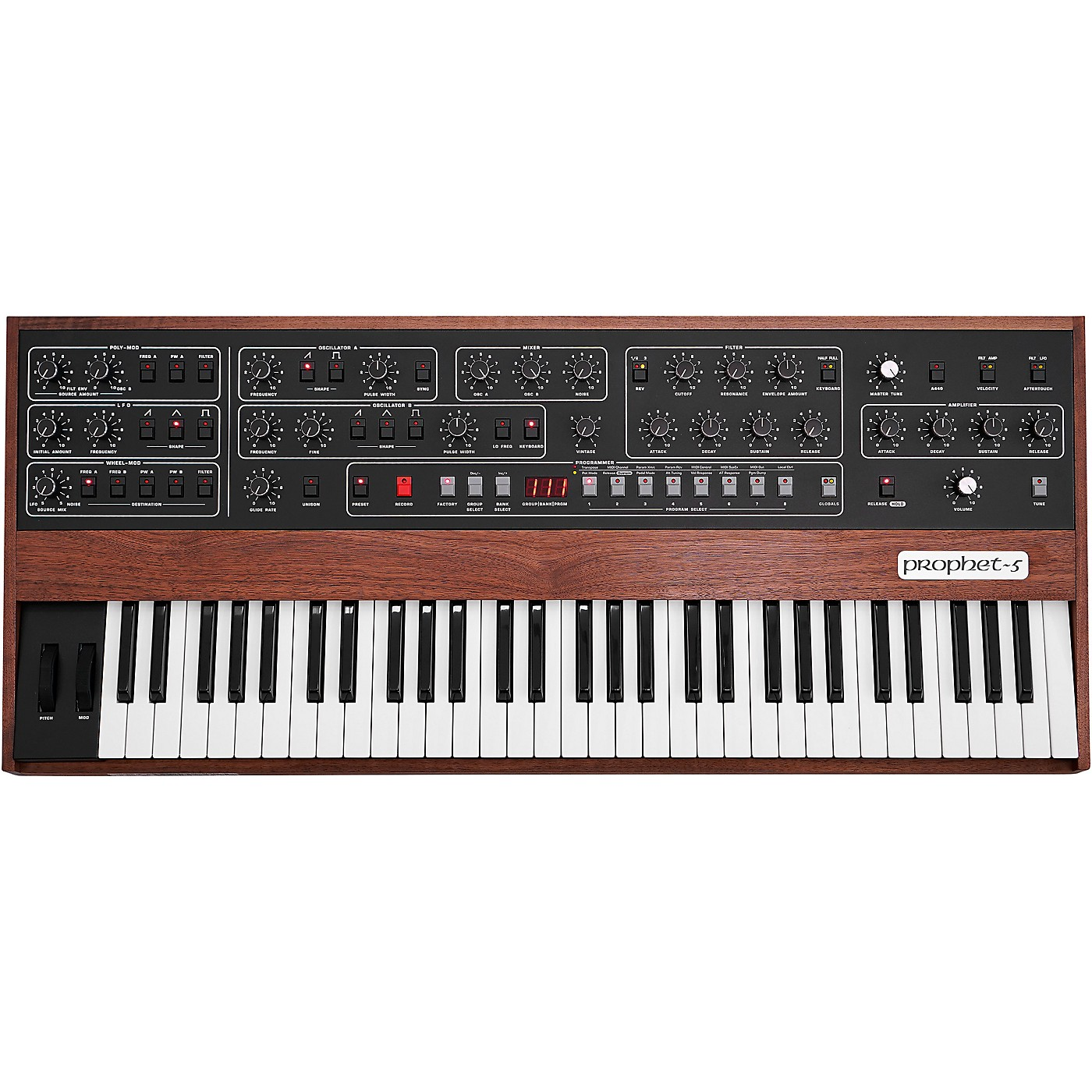 Sequential Prophet-5 5-Voice Polyphonic Analog Synthesizer thumbnail