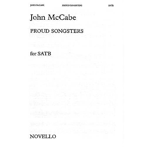 Novello Proud Songsters SATB Composed by John McCabe thumbnail