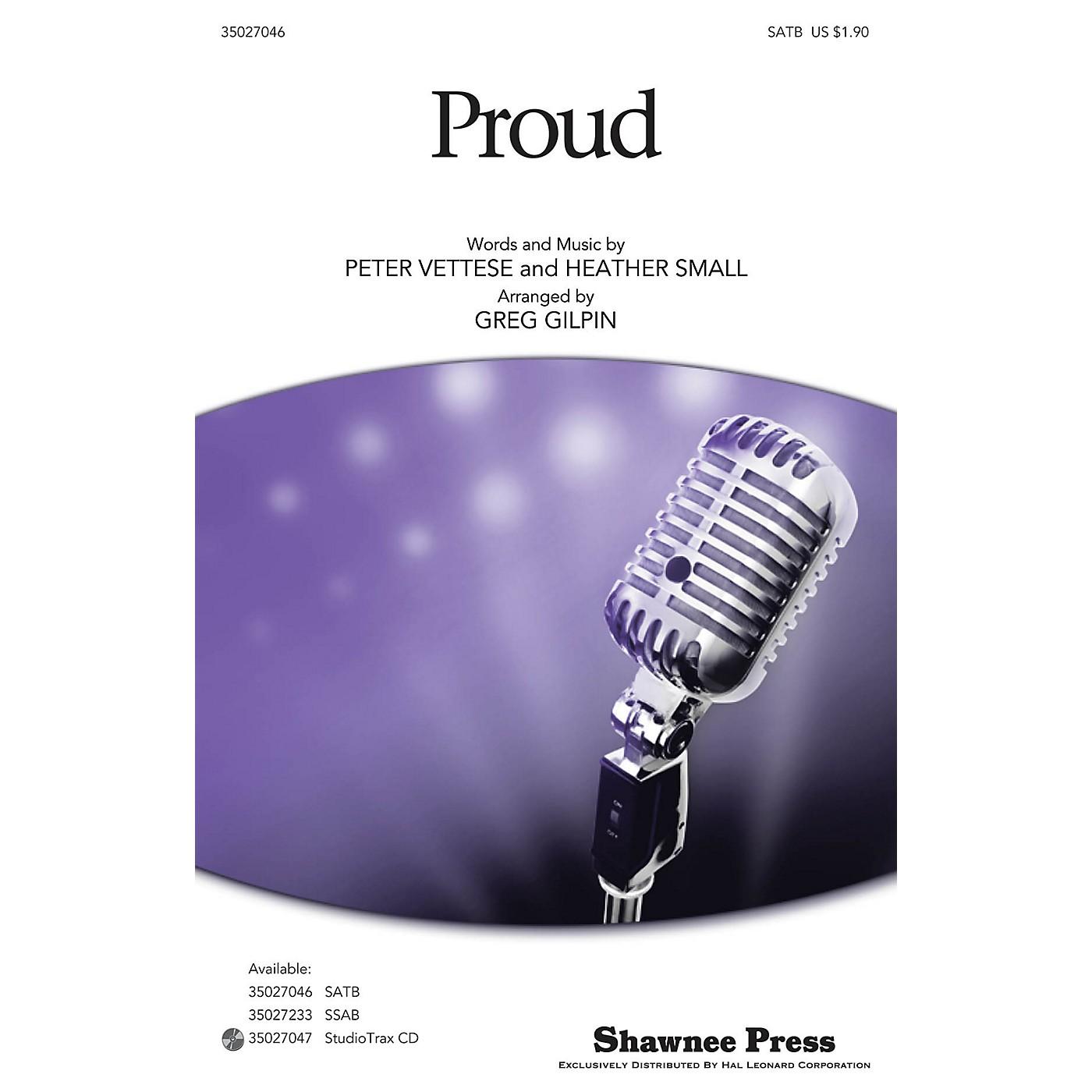 Shawnee Press Proud Studiotrax CD Arranged by Greg Gilpin thumbnail
