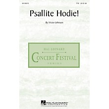 Hal Leonard Psallite Hodie! TTB composed by Victor C. Johnson