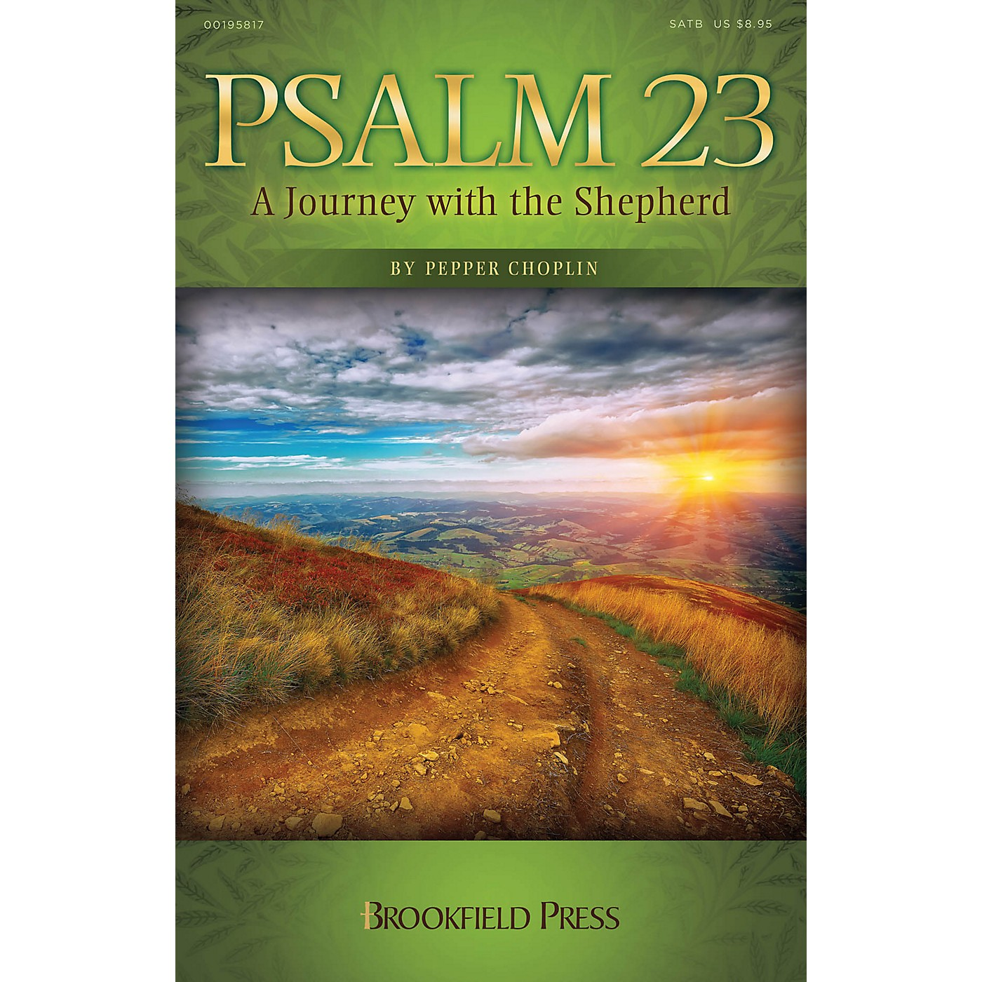 Brookfield Psalm 23 (A Journey with the Shepherd) PREV CD Composed by Pepper Choplin thumbnail