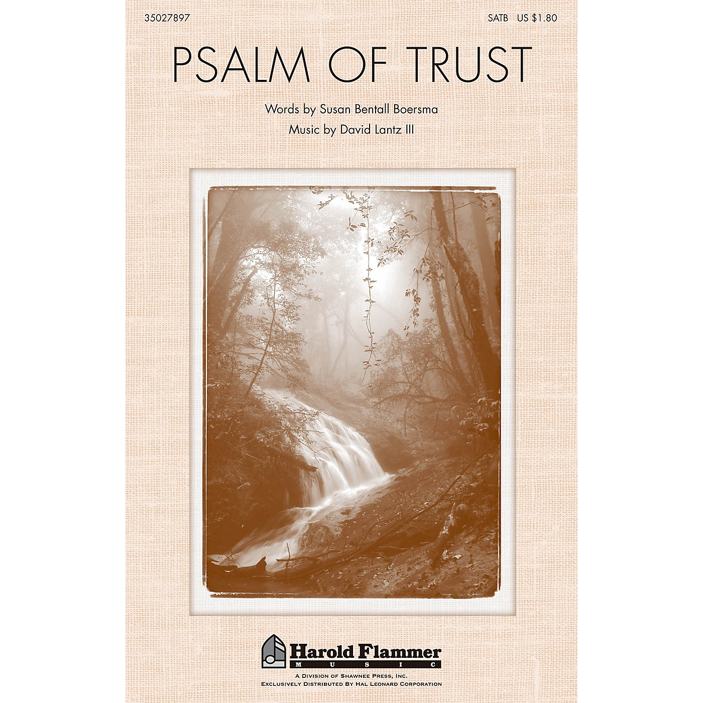 Shawnee Press Psalm of Trust SATB composed by David Lantz III thumbnail