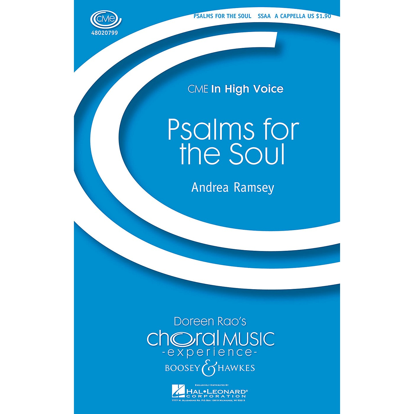 Boosey and Hawkes Psalms for the Soul (CME In High Voice) SSAA A CAPPELLA composed by Andrea Ramsey thumbnail