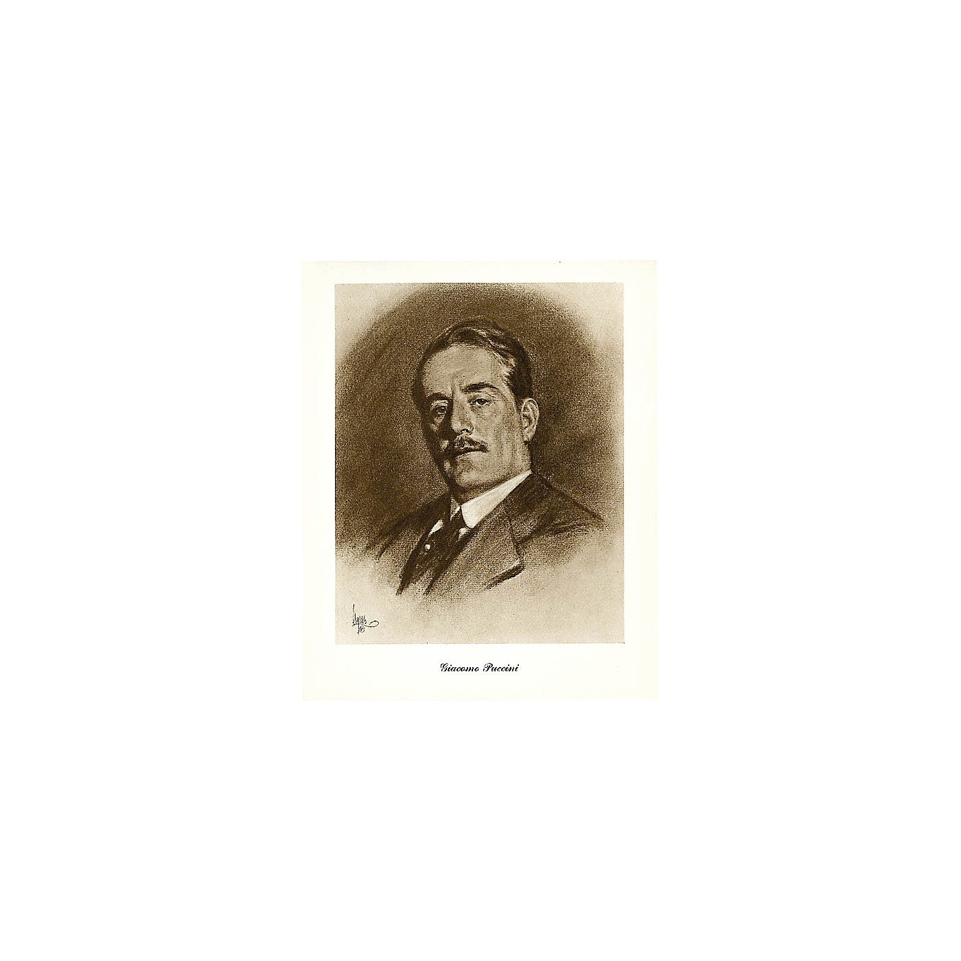 Music Sales Puccini (Lupas Large Portrait Poster) Music Sales America Series thumbnail