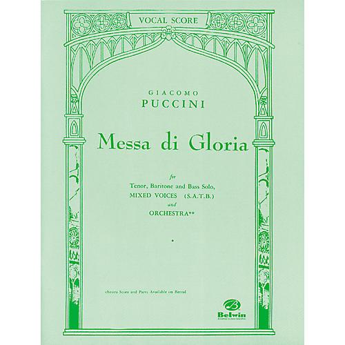 Alfred Puccini Messa Di Gloria SATB Choir thumbnail