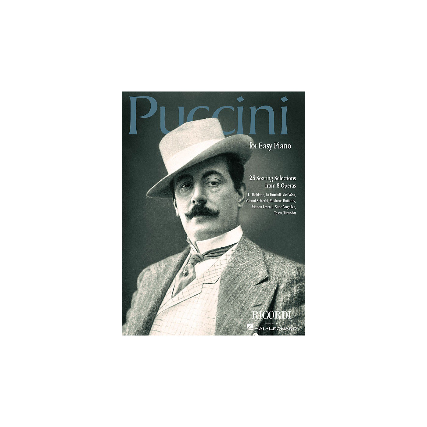 Ricordi Puccini for Easy Piano (25 Soaring Selections from 8 Operas) Misc Series thumbnail
