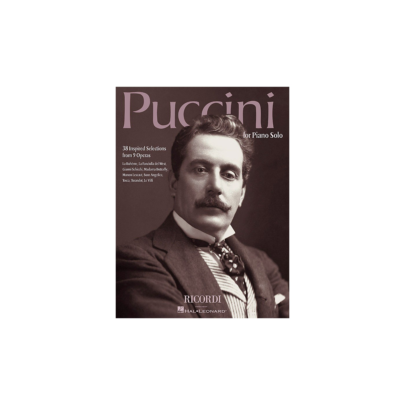 Ricordi Puccini for Piano Solo (38 Inspired Selections from 9 Operas) Misc Series thumbnail