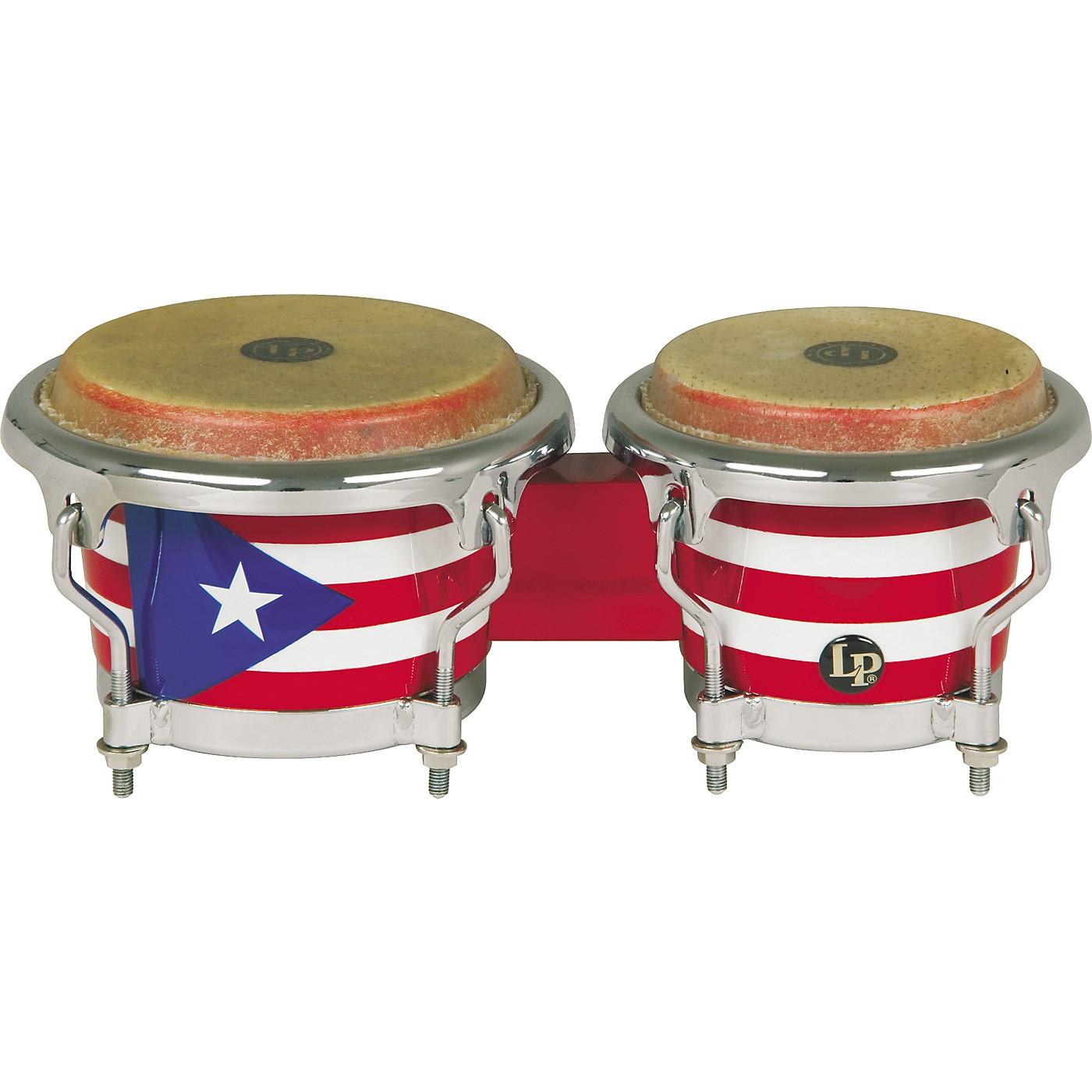 LP Puerto Rican Flag Mini-Bongos thumbnail