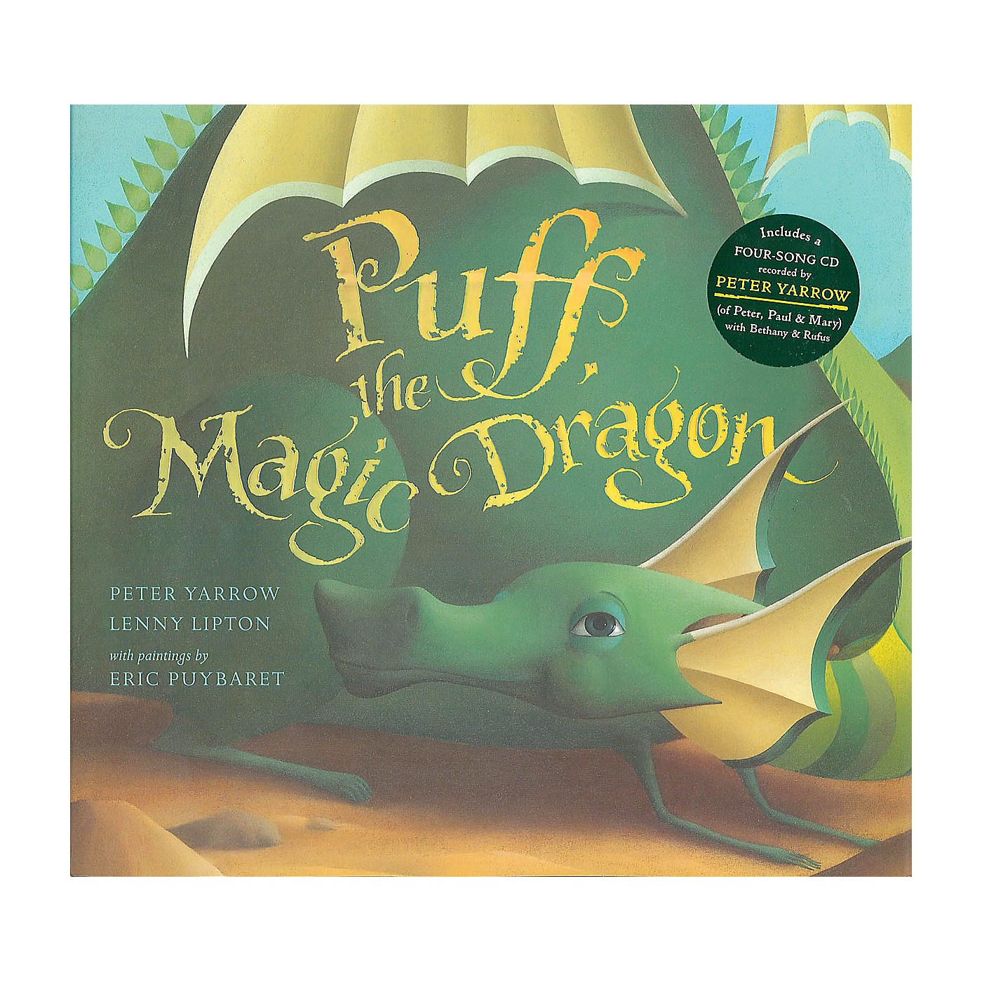 Music Sales Puff the Magic Dragon Music Sales America Series Softcover with CD thumbnail