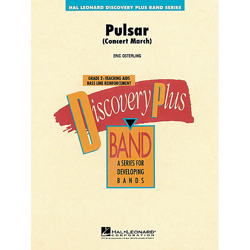 Hal Leonard Pulsar Concert March - Discovery Plus Band Level 2 composed by Eric Osterling thumbnail