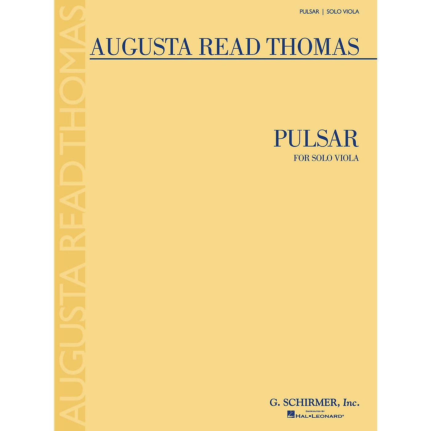 G. Schirmer Pulsar (Solo Viola) String Series Composed by Augusta Read Thomas thumbnail