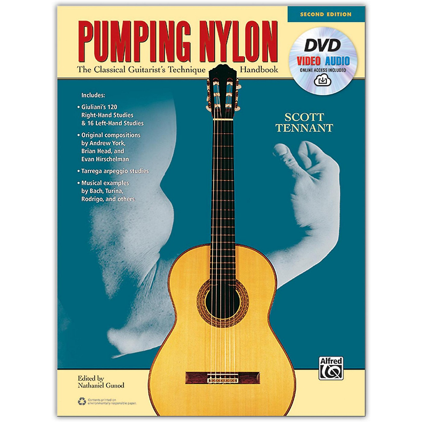 Alfred Pumping Nylon Book, DVD & Online Audio, Video & Software - 2nd Edition thumbnail