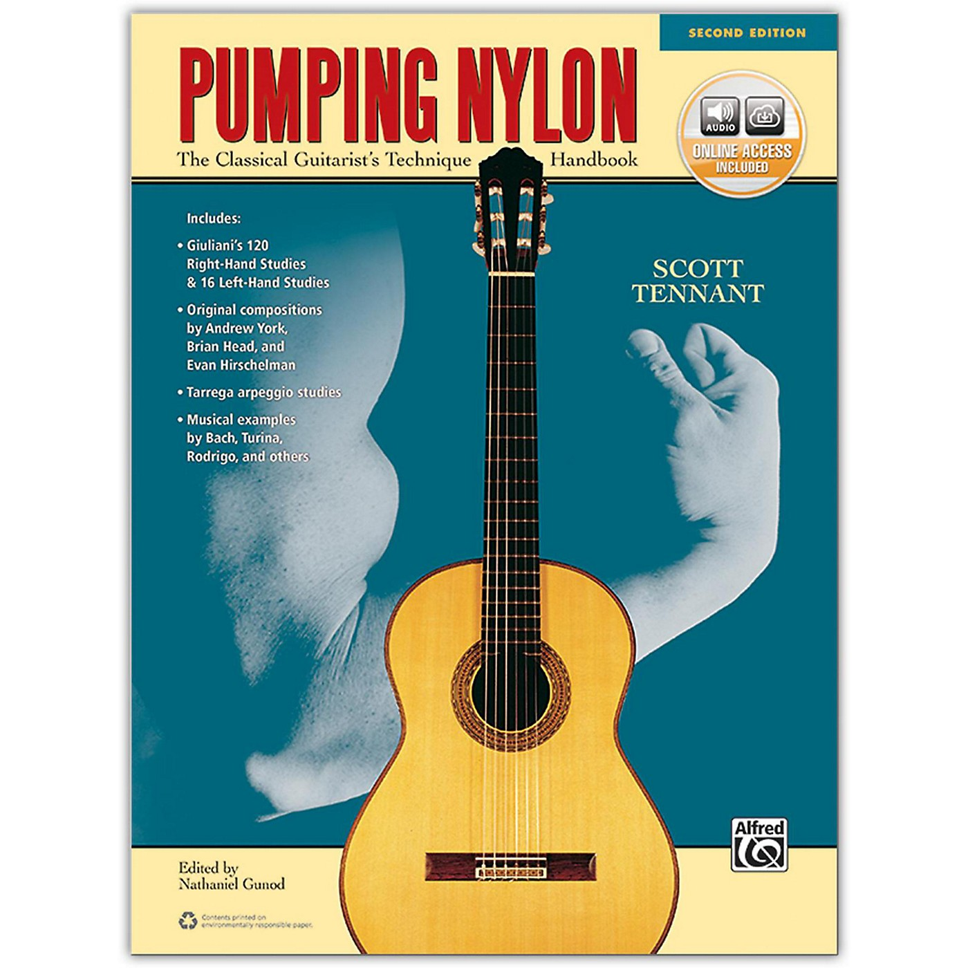 Alfred Pumping Nylon Book, DVD & Online Audio, Video & Software  2nd Edition thumbnail