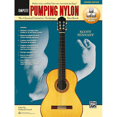 Alfred Pumping Nylon: Complete (Second Edition) Book & Online Audio & Video thumbnail