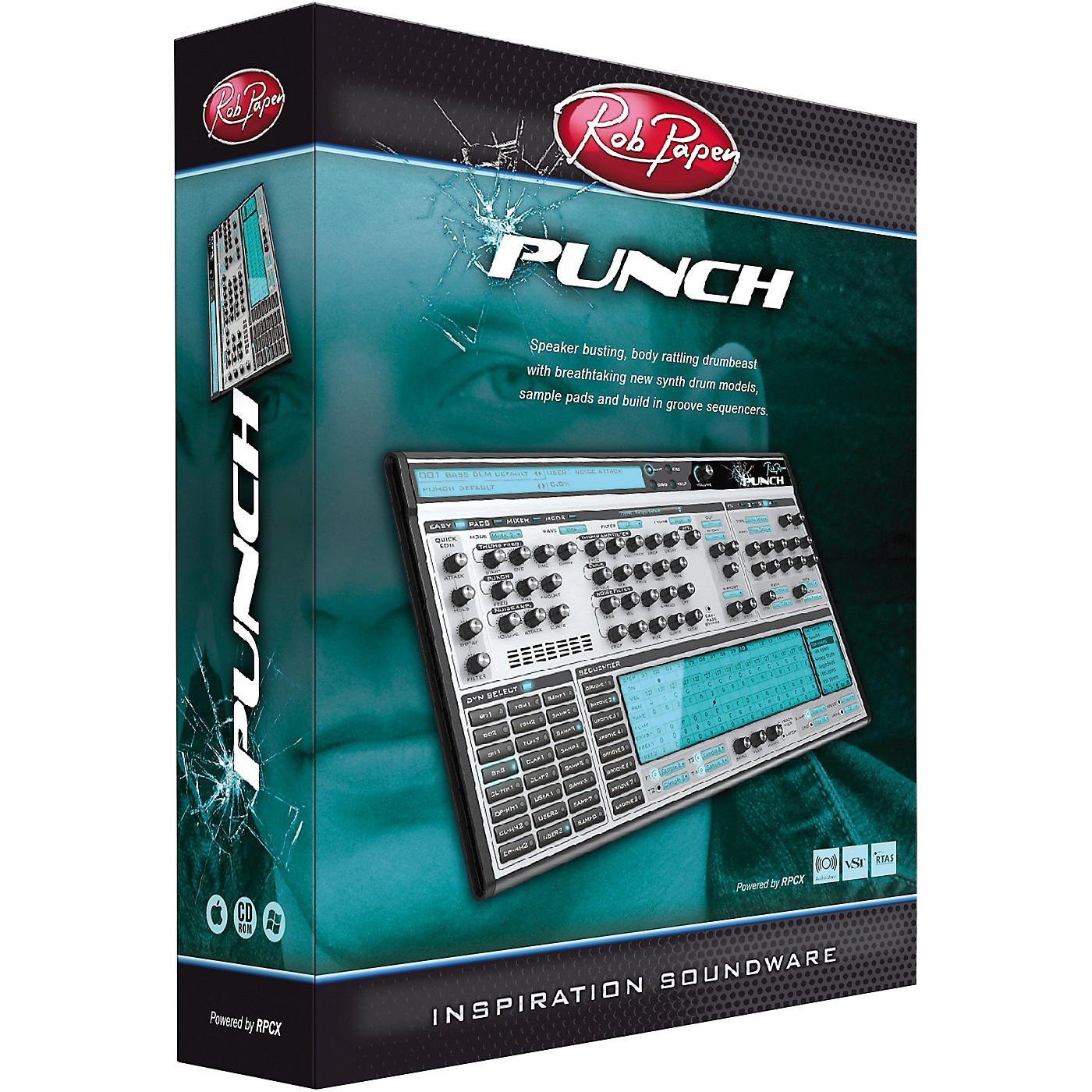 Rob Papen Punch Virtual Drum Synthesizer thumbnail