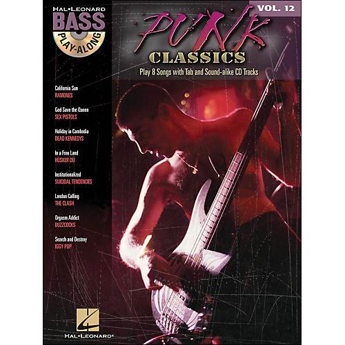Hal Leonard Punk Classics - Bass Play-Along Volume 12 Book/CD thumbnail