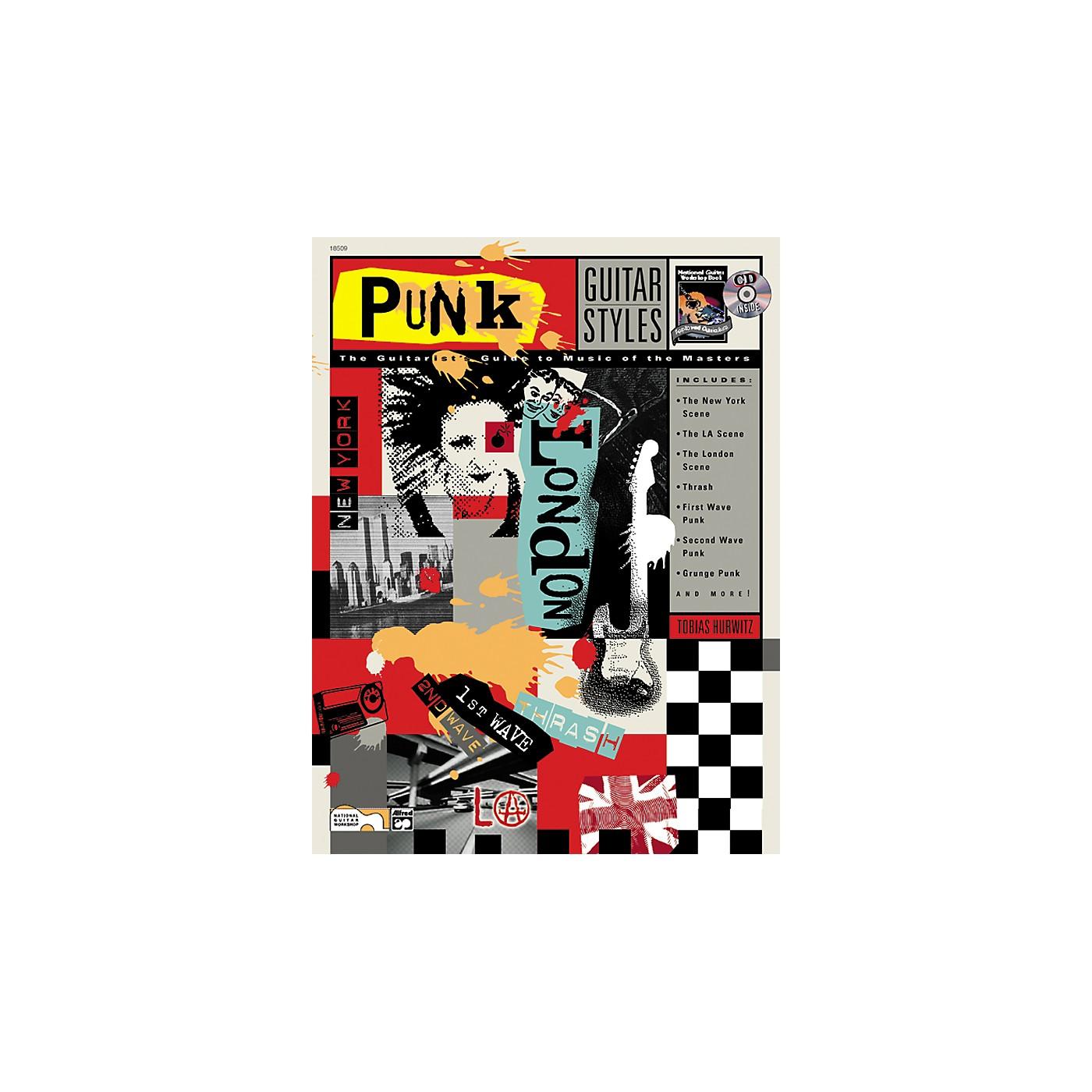 Alfred Punk Guitar Styles (Book/CD) thumbnail
