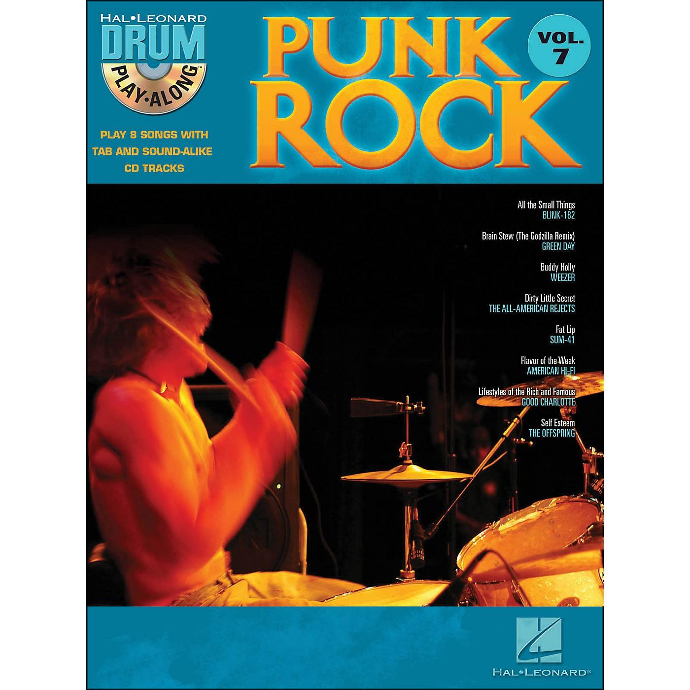 Hal Leonard Punk Rock Drum Play-Along Volume 7 Book/CD thumbnail