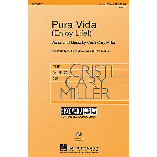 Hal Leonard Pura Vida (Enjoy Life!) 3 Part Treble Composed by Cristi Cary Miller thumbnail