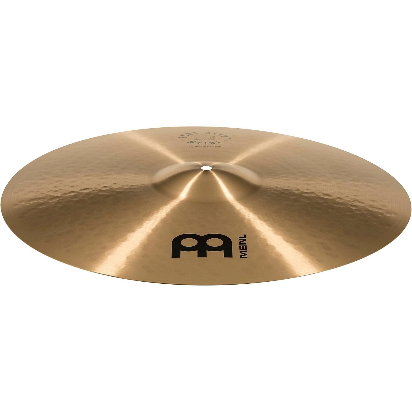 Meinl Pure Alloy Traditional Medium Crash Cymbal thumbnail