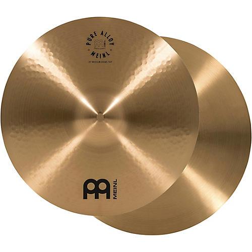 Meinl Pure Alloy Traditional Medium Hi-Hat Cymbal Pair thumbnail