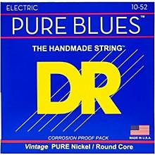 DR Strings Pure Blues  Nickel Big N' Heavy Electric Guitar Strings (10-52)