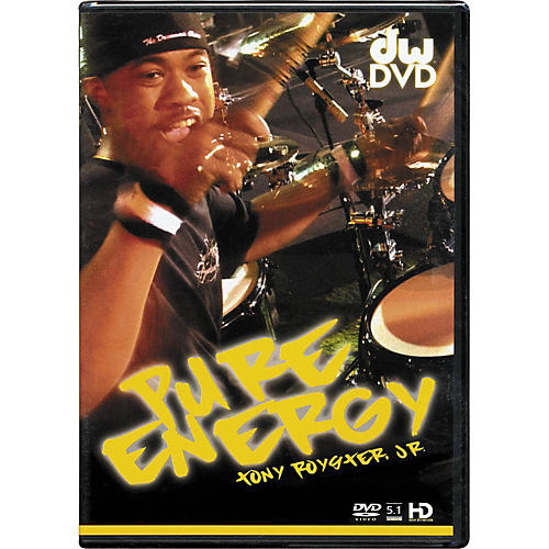 The Drum Channel Pure Energy: Tony Royster Jr. DVD thumbnail