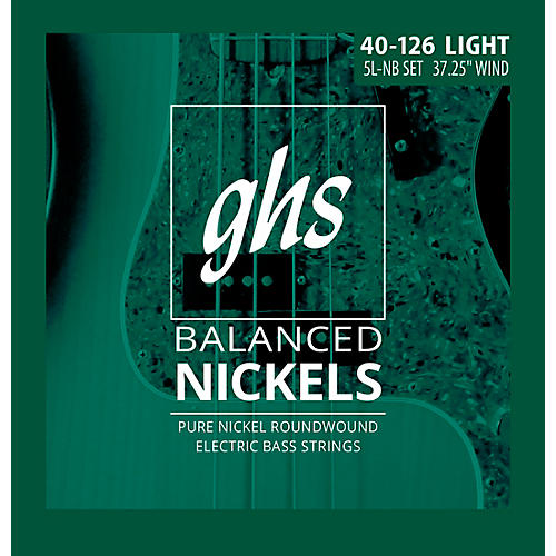 GHS Pure Nickel Roundwound Light 40-126 thumbnail
