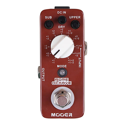 Mooer Pure Octave Guitar Effects Pedal thumbnail