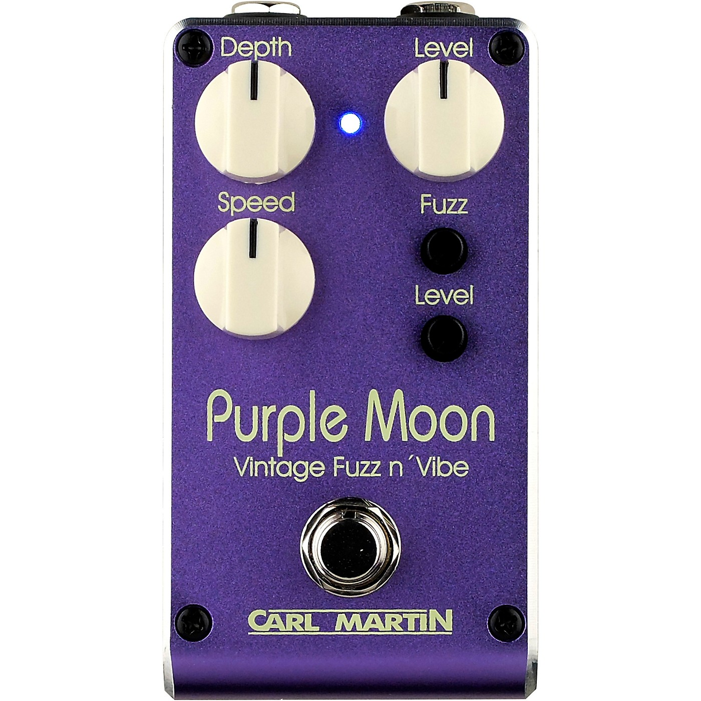 Carl Martin Purple Moon V2 Vintage Fuzz and Vibe Effects Pedal thumbnail