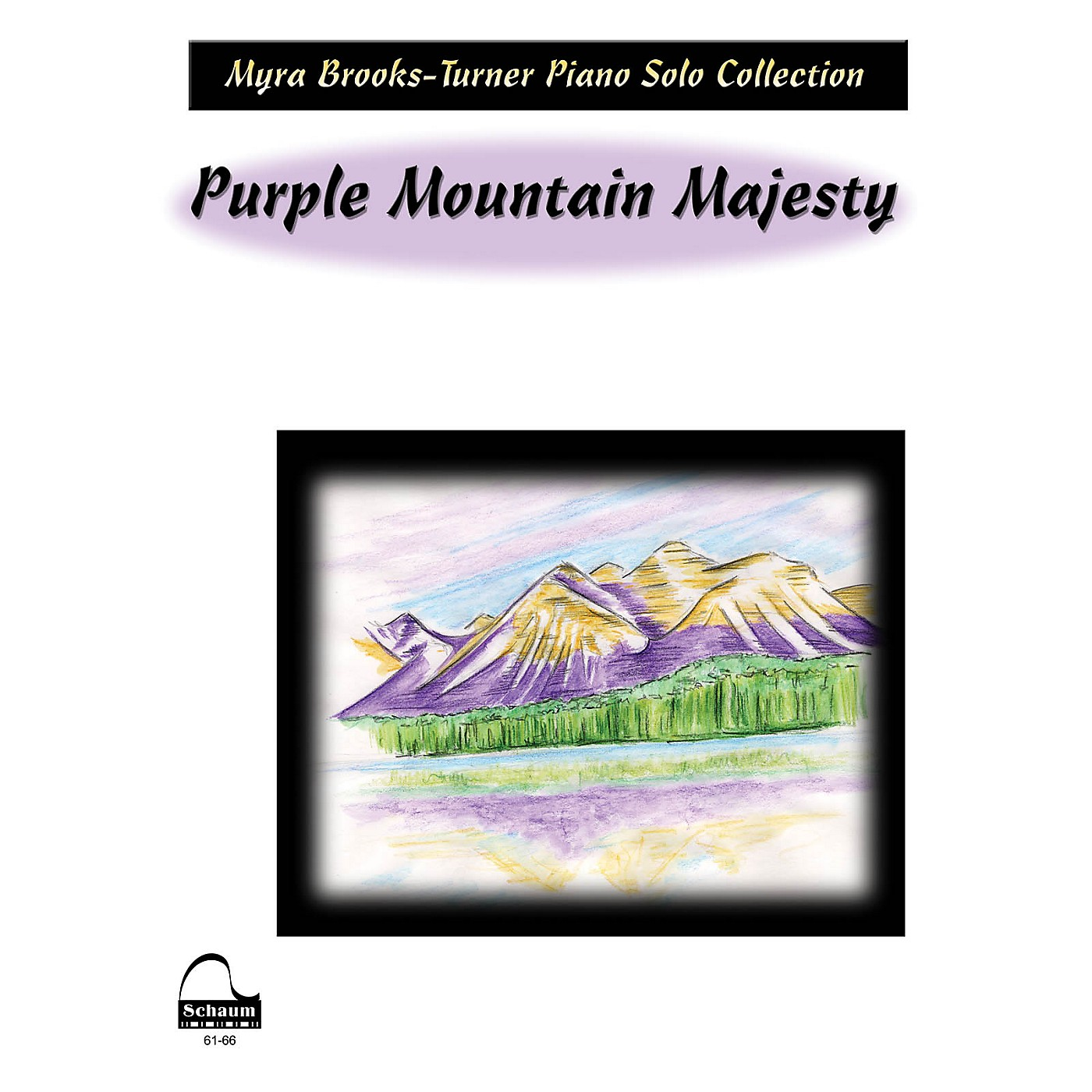 SCHAUM Purple Mountain Majesty Educational Piano Series Softcover thumbnail