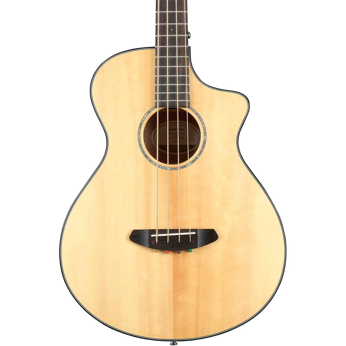 Breedlove Pursuit Concert Acoustic-Electric Bass Guitar thumbnail