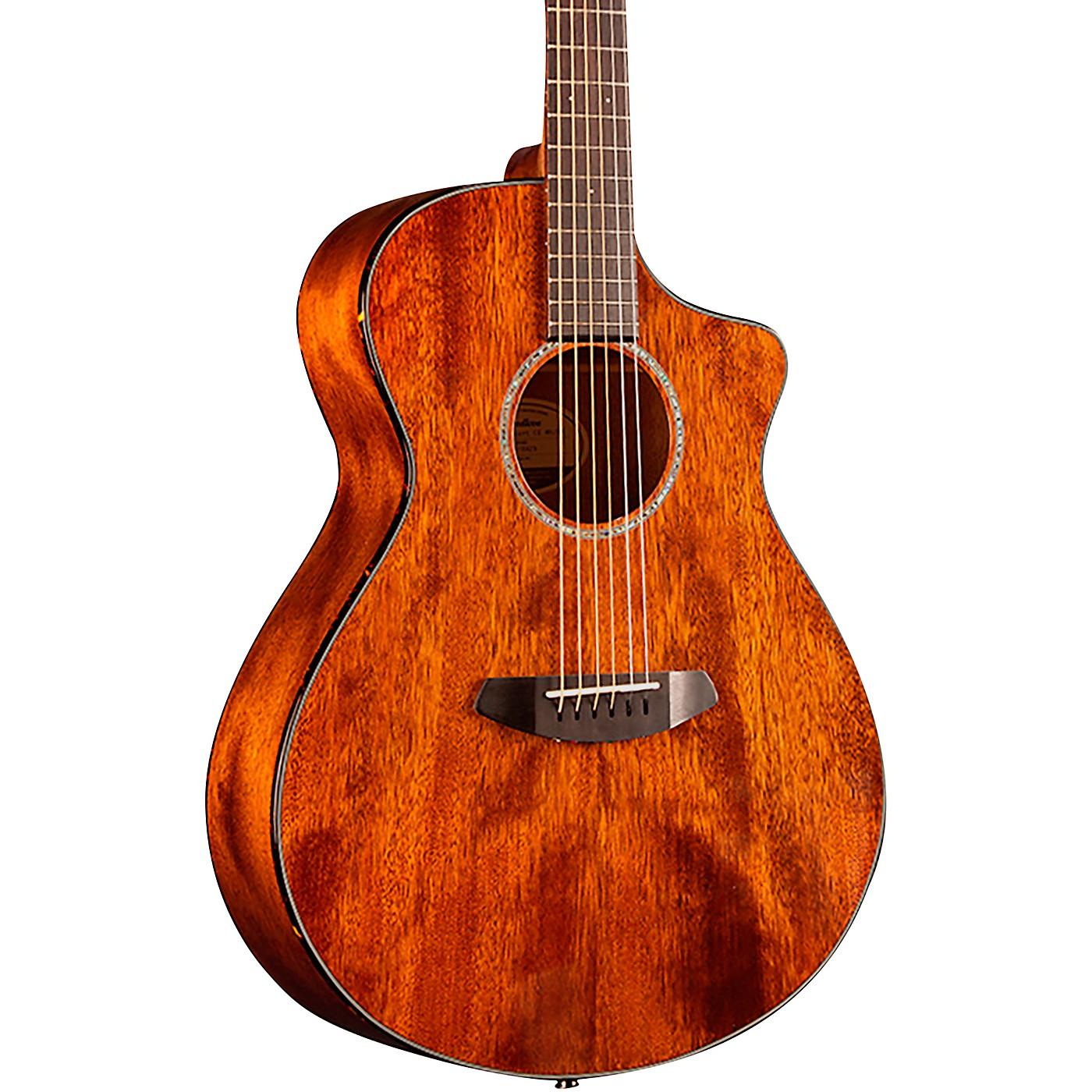 Breedlove Pursuit Concert Cutaway CE Mahogany Acoustic-Electric Guitar thumbnail