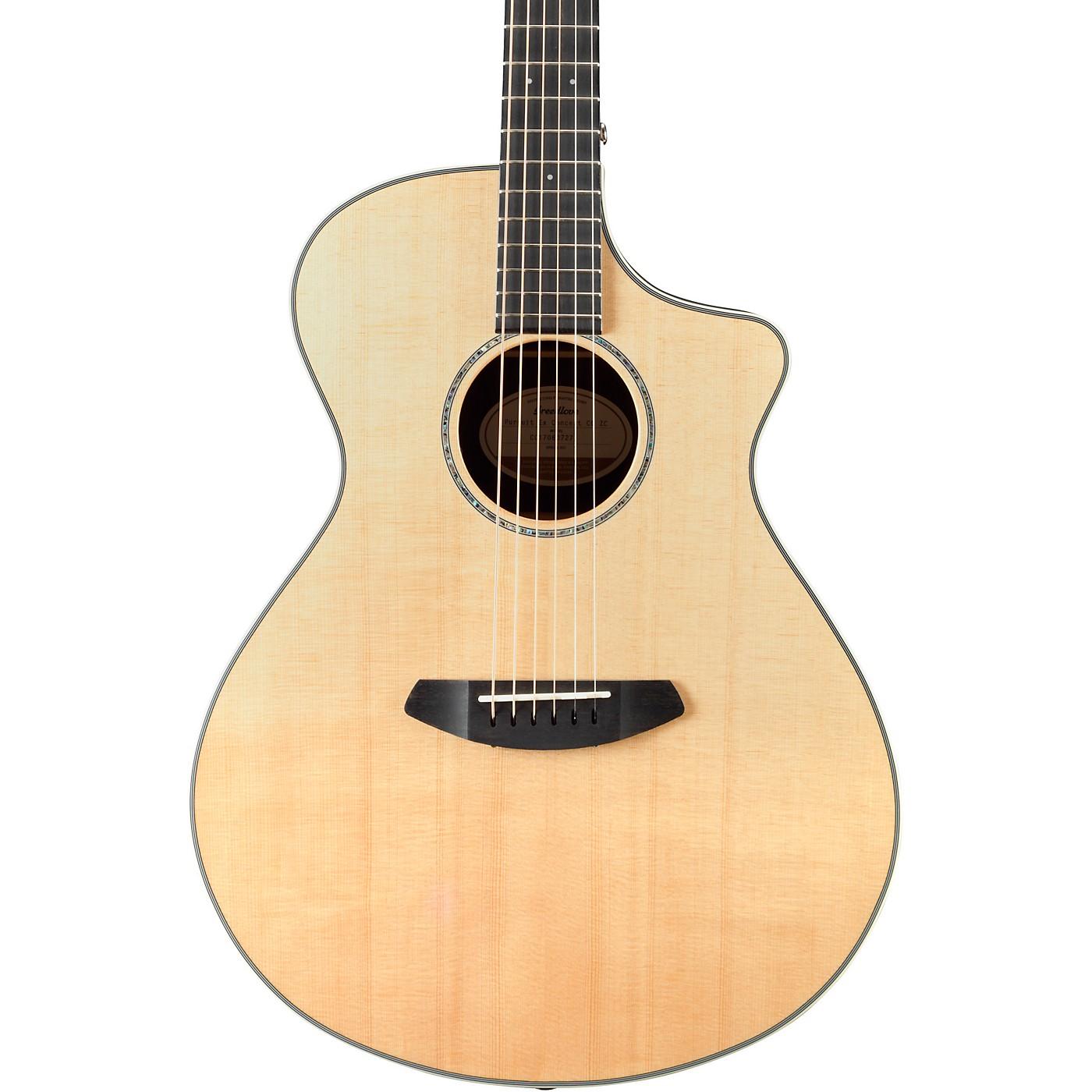 Breedlove Pursuit Concert Cutaway CE Sitka-Ziricote Acoustic-Electric Guitar thumbnail